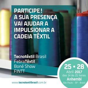 FebraTêxtil, Tecnotêxtil Brasil, FINNT e BonéShow