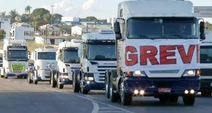 caminhoes caminhao estradas rodovias greve paralisacao