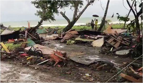 Indonesia desastre natural erupcao vulcanica e tsunami