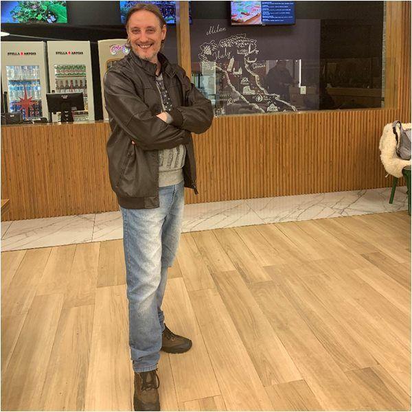 Fabio Juchen Editor de Sortimentos.com no OPasta Trattoria BarraShoppingSul Porto Alegre