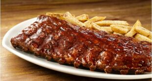 Costela de porco Ribs on the barbie OutBack SteakHouse