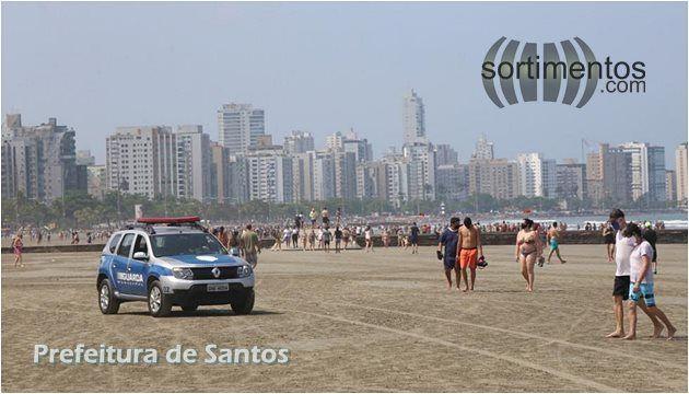 Verão em Santos no litoral paulista - Sortimentos.com Turismo